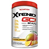 Scivation Xtend Go Amino Energy BCAA Powder for Pre Workout or Anytime Energy, BCAAs, Mango, 30 Servings Review