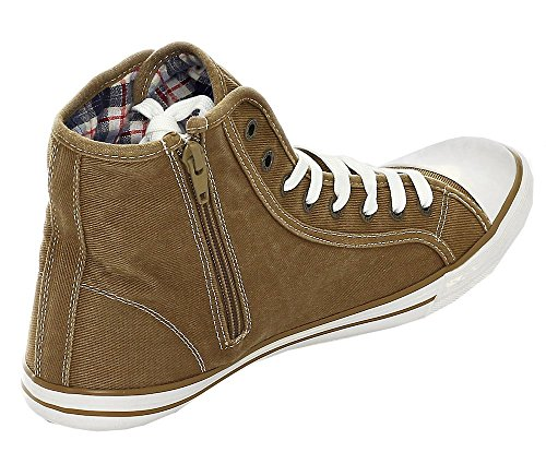 Braun Herren 4058504 Sneaker Sand 44 Mustang 7tRqw1xw