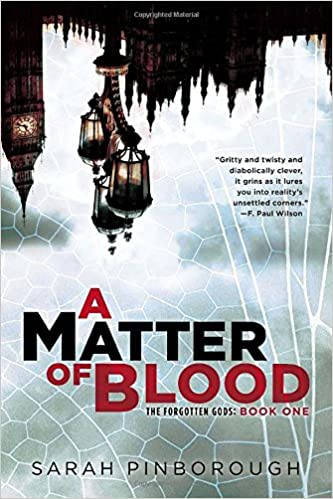 Book A Matter of Blood (Forgotten Gods Trilogy)
