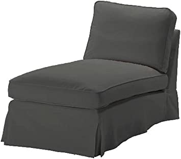 Pleasing The Dense Cotton Ikea Ektorp Chaise Cover Replacement Is Custom Made For Ikea Ektorp Chaise Lounge Cover A Sofa Slipcover Replacement Durable Cotton Gmtry Best Dining Table And Chair Ideas Images Gmtryco