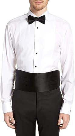Amazon.com: Silk Cumberbund & Bowtie Black Mens Cummerbund & Bow Tie Set:  Clothing