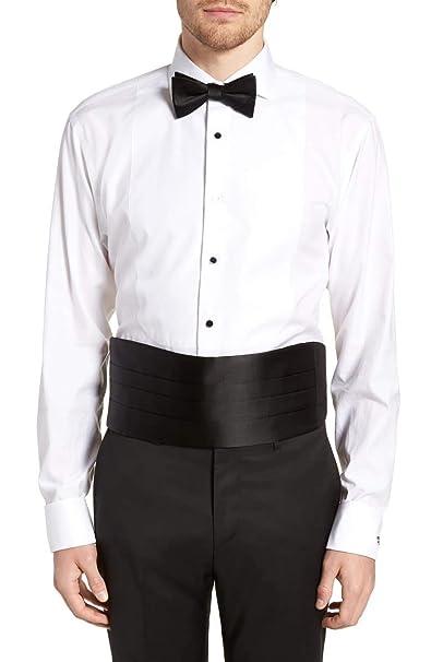 b3b9e43e6eaf Amazon.com: Silk Cumberbund & Bowtie Black Mens Cummerbund & Bow Tie ...