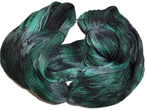 Artisan Yarns Hand Dyed Baby Alpaca Yarn, Hand Painted: Forest Floor, Dk Weight, 80 Grams, 200 Yards, 100% Baby Alpaca