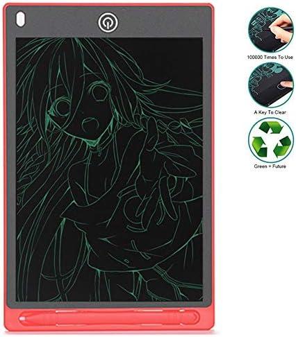 LKJASDHL 10インチ液晶電子描画ボードライティングボード子供書き込み早期教育落書き描画小さな黒板液晶ライティングタブレット (色 : レッド)