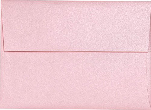 A1 Invitation Envelope (3 5/8 x 5 1/8) - Rose Quartz Metallic (50 Qty.)