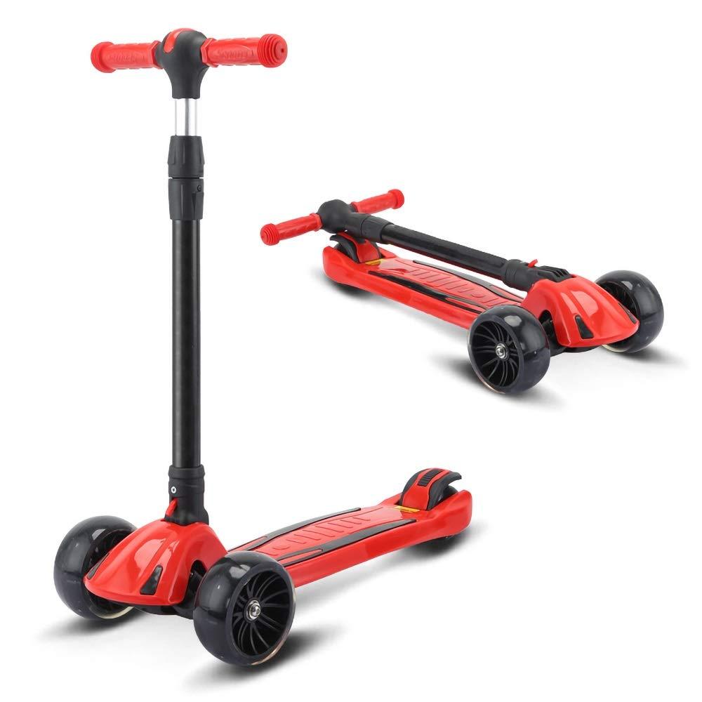 子供のスクーター三輪スクータースクーター三輪スケーター子供のおもちゃ誕生日プレゼント ( ( Color : : Red ) ) B07PV68SB5, はんこdeハンコ:011f0841 --- cgt-tbc.fr