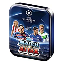 UEFA Champions League 2015/2016 Topps Match Attax Soccer Card Collectors Tin by Match Attax