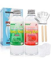 Epoxy Hars 520ml/566g Kit - 1:1 Verhouding Crystal Clear Resin Coating