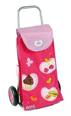 House of Toys 770017 - Carro de la compra para niños, color rosa: Amazon.es: Juguetes y juegos