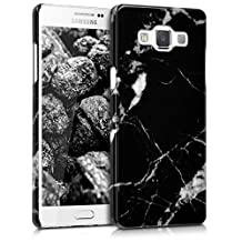 kwmobile Hard case Design marble for Samsung Galaxy A5 (2015) in black white
