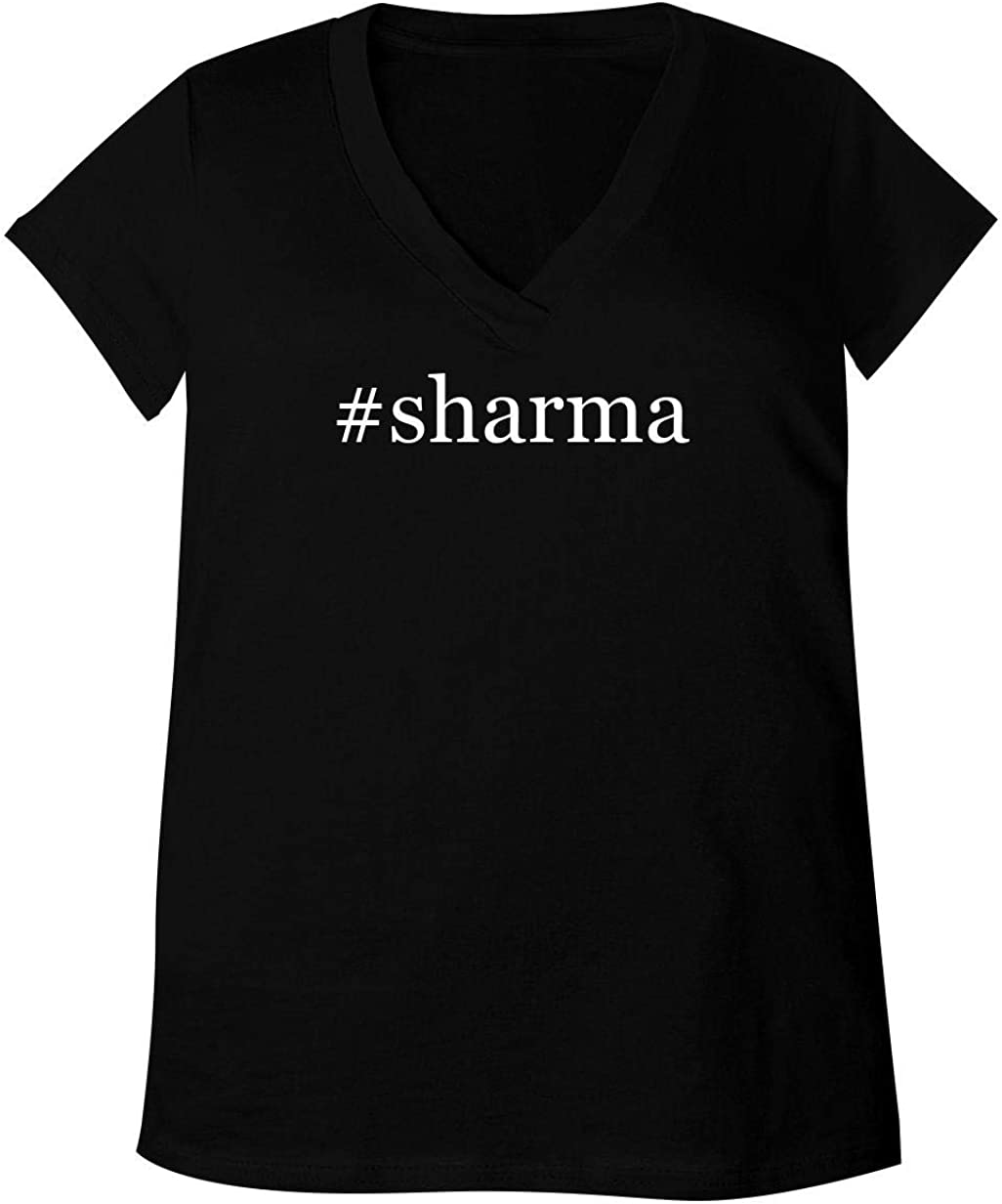 B07T3XSCQN #Sharma - Adult Bella + Canvas B6035 Women's V-Neck T-Shirt 51MpQa8hHeL