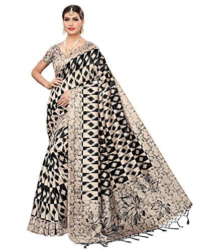 Wama Fashion women cotton silk printed saree