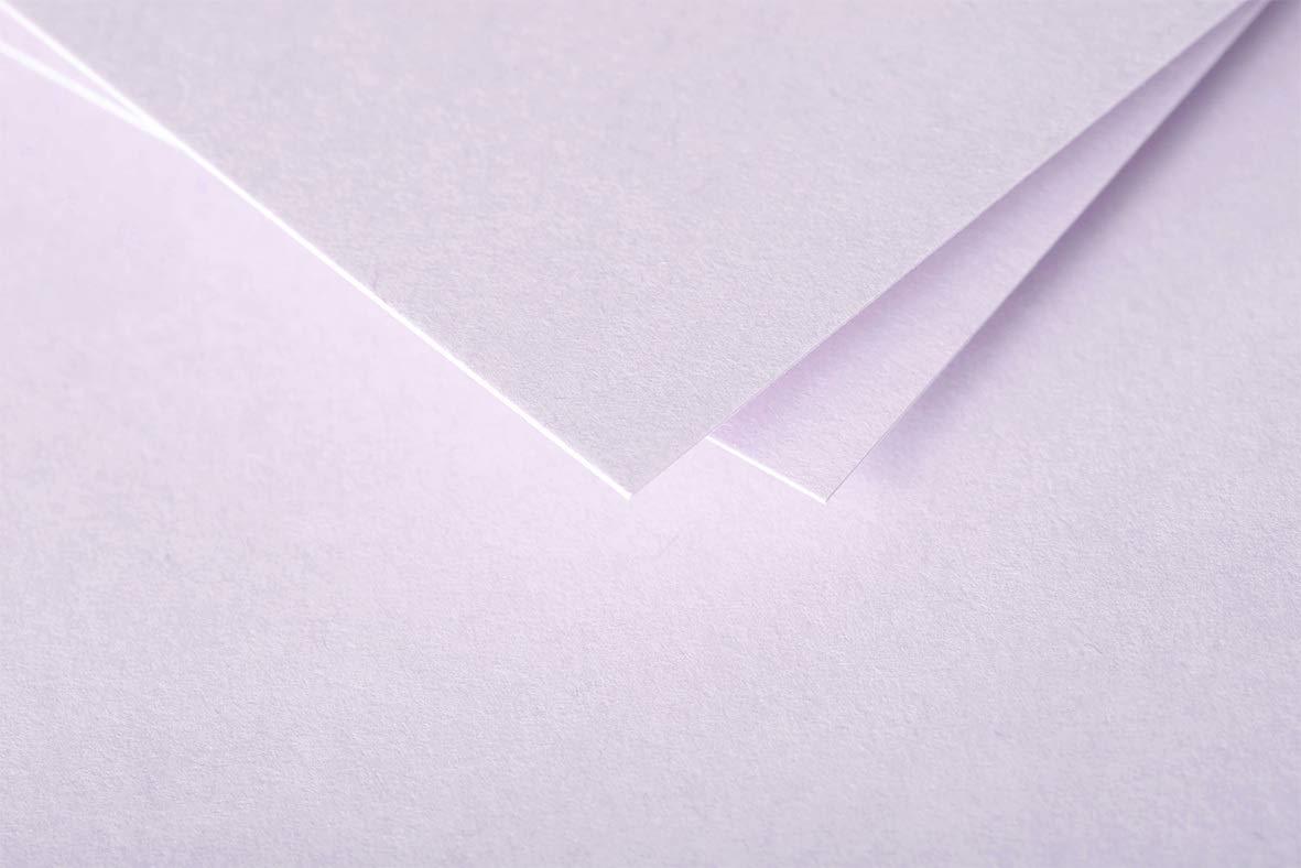 Clairefontaine 5435C Enveloppe Pollen 11 x 22 cm 120g paquet de 20 Blanc