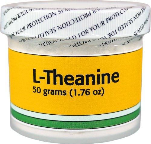 La L-théanine - 50 grammes (1,76 oz) - 99 +% Pure