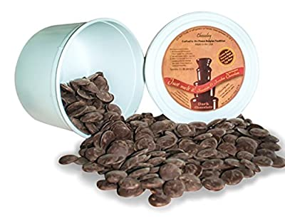 Chocoley Fountain & Fondue Chocolate - 5 Lbs - Just Melt It! Chocolate - 2 x 2.5 Pounds Tubs of Dark, Milk, or White Chocolate