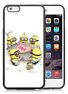 Hot Sale iPhone 6 Plus 5.5 Inch TPU Case ,Beautiful Unique Designed Case With Despicable Me 6 Black iPhone 6 Plus Cover