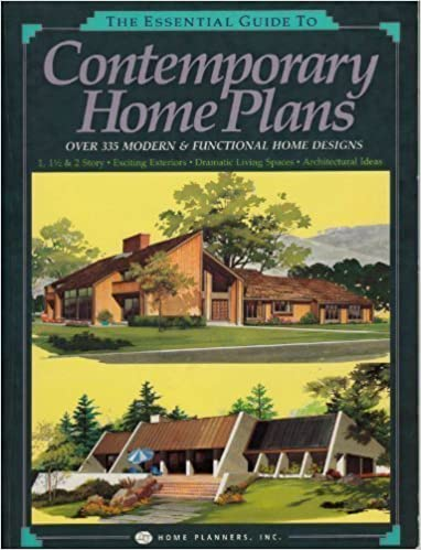 The Essential Guide To Contemporary Home Plans: Over 335 Modern U0026  Functional Home Designs: Home Planners Inc: 9780918894618: Amazon.com: Books