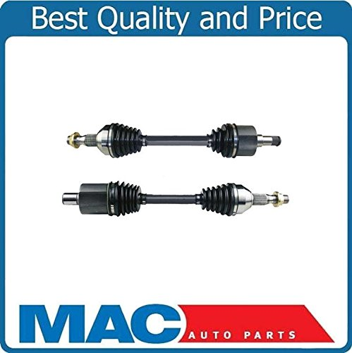 2 100% New Front CV Drive Axle Shafts for 01-05 Aztex FWD Front Wheel Drive Only