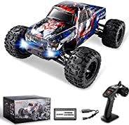 BEZGAR 7 Hobbyist Grade 1:16 Scale Remote Control Truck, 4WD High Speed 42 Km/h All Terrains Electric Toy Off