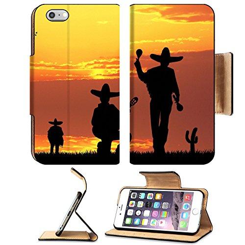 Liili Premium Apple iPhone 6 Plus iPhone 6S Plus Flip Pu Leather Wallet Case Mariachi band 29184247