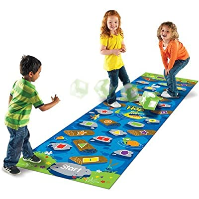 Learning Resources Crocodile Hop Floor Game: Toys & Games