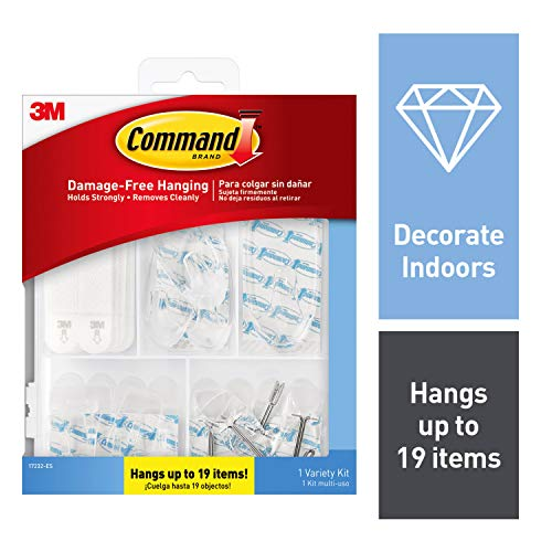 Command Clear Variety Kit, Indoor Use (17232-ES)