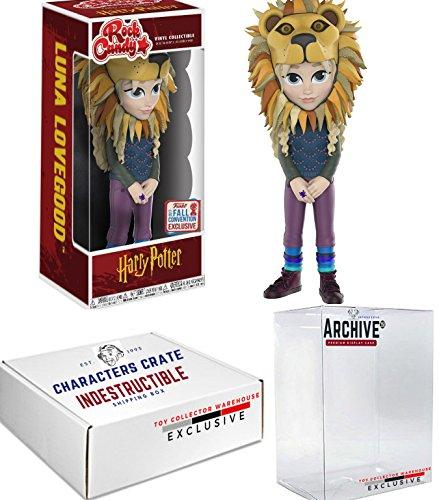 Funko Rock Candy NYCC Harry Potter Luna Lovegood, Limited Edition Fall Convention Exclusive, Concierge Collectors (Luna Lovegood Halloween)