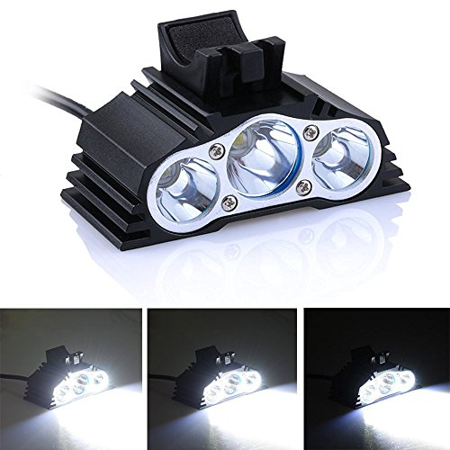 AGPtEK® 3 LED CREE 2500 Lumens Waterproof Bike Cycling Bicy