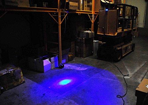 Blue Forklift Led Light Warehouse Safety Warning Lamp Spot