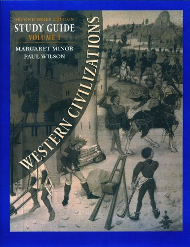 Study Guide: for Western Civilizations, Second Brief Edition (Vol. 1)