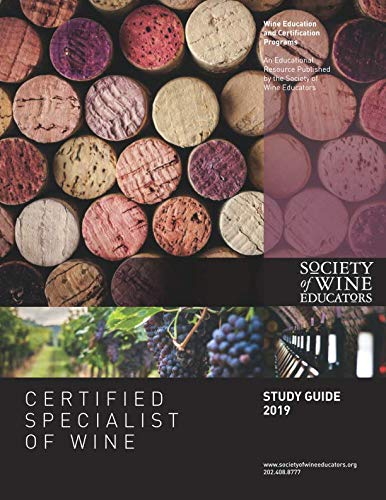 2019 Certified Specialist of Wine Study Guide by Jane Nickles