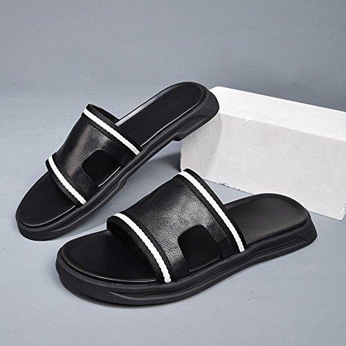 da Flip Flop Indoor con Trend Soft ZPD esterni suola Sandali Summer Soft Pantofola A spessa da Casual uomo antiscivolo qwppI4Hz