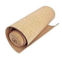 """Cork Nature Cork Underlayment, 48"""" x 3mm x 50 Linear Feet, (1 Roll)"""