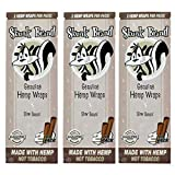 Skunk Brand Hemp Wraps - 2 Wraps Per Pack