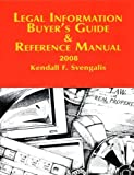 Legal Information Buyer's Guide and Reference Manual 2008, Rhode Island LawPress, 0976786478
