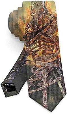 Hombre Halloween Noche oscura Calabaza Corbata clásica Traje ...