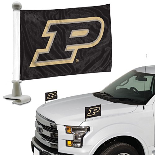 ProMark NCAA Purdue Boilermakers Flag Set 2Piece Ambassador Stylepurdue Boilermakers Flag Set 2Piece Ambassador Style, Team Color, One Size