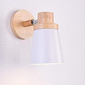 lumi/ère chaude Moderne Applique LED Lumi/ère LED lampe en bois chambre japonaise lampe de chevet chambre miroir cr/éatif lampe murale avant lampe lampe en bois lampe ancienne lumi/ère