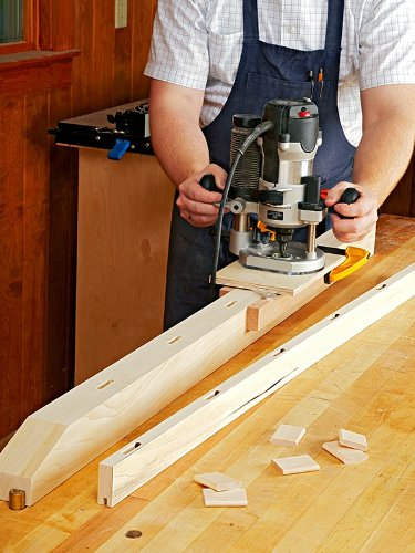 A Woodworking Plan with Instructions to Build a Plunge Router Mortising Jig (Woodworking Jig Plans)