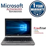 "HP EliteBook 2560p 12.1"""" Laptop Intel CORE I5 2.5GHz, 4G DDR3 RAM, 250G HDD, DVDRW, Windows 10 Pro 64,1 Year Warranty"