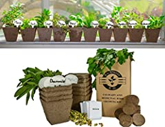 Complete, Beginner-Friendly Garden Starter Kit Grow your favourite culinary and medicinal herbs whenever and wherever you want with Mr Sprout's Garden Essential Kit. Starting your own seeds at home is an easy way to increase the variety of ga...