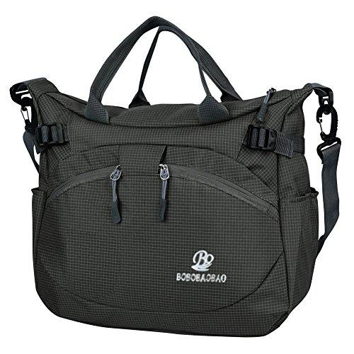 vbiger-messenger-bag-handbags-for-women-waterproof-nylon-fabric-shoulder-bag-black