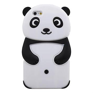 coque iphone 4 silicone panda