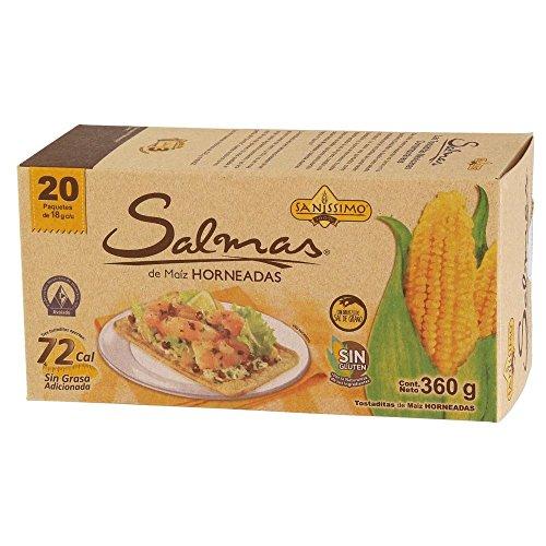 Baked Corn - Salmas Horneadas Baked Corned Tostadas