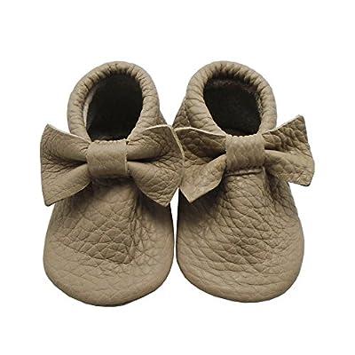 Mejale Baby Soft Soled Leather Moccasins Tasssel Slip-on Infant Toddler Shoes Pre-walker