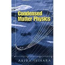 Condensed Matter Physics (Dover Books on Physics)