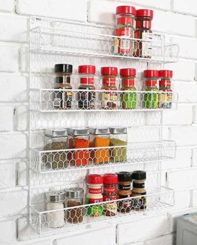 cabinet mounted spice rack - 5