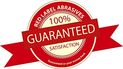 2 X 72 Inch 60 Grit Flexible Aluminum Oxide Multipurpose Sanding Belts 6 Pack