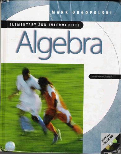 Elementary & Intermediate Algebra, 3rd edition pdf