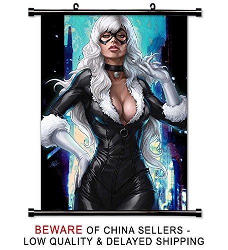 Black Cat Super Hero Wall Scroll Poster (16x25) -